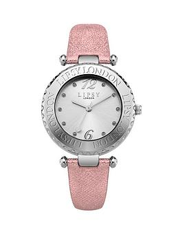 lipsy-lipsy-silver-dial-pink-pu-strap-ladies-watch