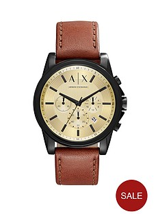 armani-exchange-gold-tone-multi-dial-brown-leather-strap-mens-watch