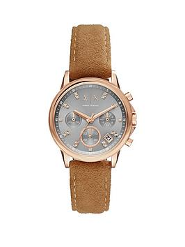 armani-exchange-grey-tone-dial-rose-tone-case-brown-strap-ladies-watch