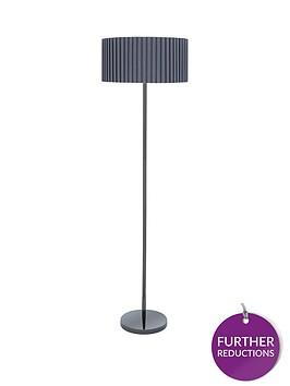 box-pleat-floor-lamp