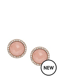 fossil-fossil-rose-gold-plate-crystal-surround-pink-stud-earring