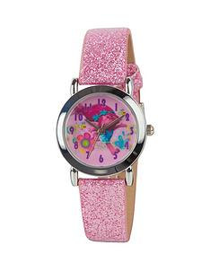 dreamworks-trolls-pink-glitter-strap-girls-watch