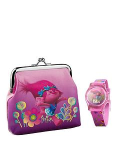 dreamworks-trolls-trolls-flashing-lights-lcd-watch-and-purse-set
