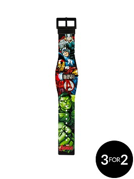 avengers-age-of-ultron-marvel-avengers-all-over-print-lcd-watch