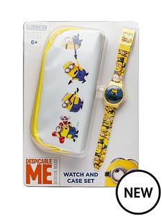 minions-minions-watch-and-pencil-case-set