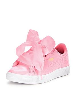 Puma Basket Heart Toddler