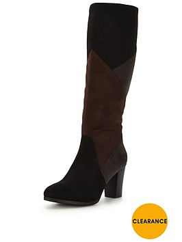 joe-browns-suedette-patchwork-boots