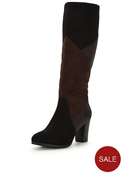 joe-browns-suedette-patchwork-boots
