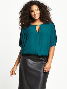 so-fabulous-curve-lace-trim-wrap-blouse