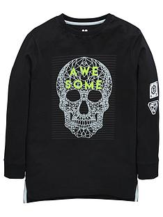 v-by-very-boys-long-sleeve-skull-print-top