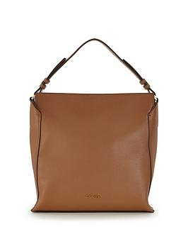 Calvin Klein Leather Hobo Slouch Bag