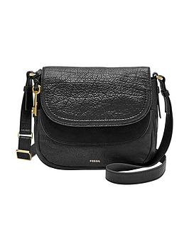 Fossil Peyton Small Double Flap Bag