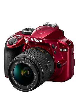 nikon-d3400-dslr-camera-with-af-p-18-55mm-vr-lens-bundle-red