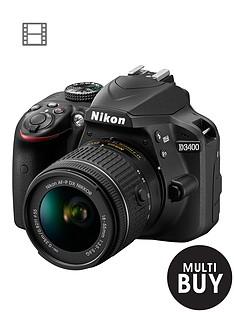 nikon-d3400-dslr-camera-with-af-p-18-55mm-lens--nbspsave-pound75-with-voucher-code-lwpmv