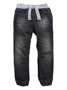 mini-v-by-very-boys-marl-rib-waist-cuffed-jeans