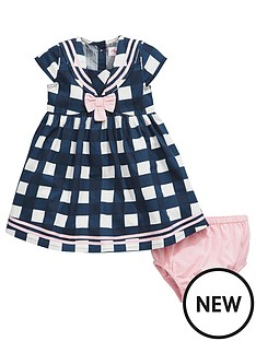 ladybird-baby-girls-check-sailor-dress-and-knickers-set