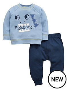 ladybird-baby-boys-long-sleeve-dinosaur-t-shirt-and-joggers-set