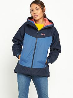 jack-wolfskin-north-ridge-waterproof-jacket-navy