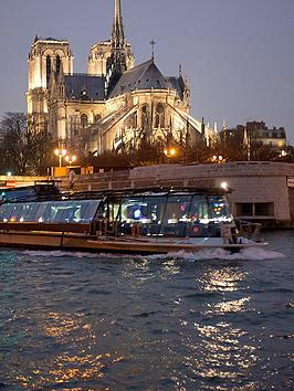Virgin Experience Days One Night Paris Break By Eurostar With Three Course Lunch Cruise OnBoard Bateaux Parisien For Two