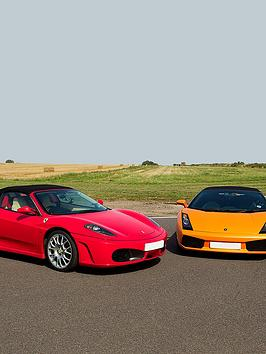 Virgin Experience Days Double Supercar Blast Plus High Speed Passenger Ride And Photo