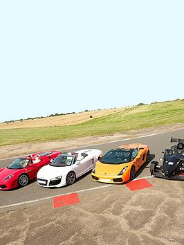 Virgin Experience Days Four Supercar Blast Plus High Speed Passenger Ride And Photo