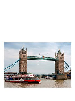 Virgin Experience Days Sights Of London One Night Break With The View From The Shard And Thames Sightseeing For Two