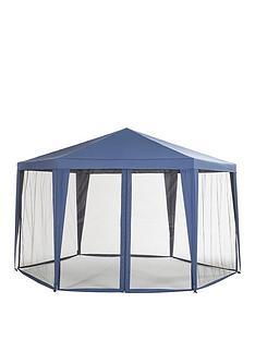 hexagon-gazebo-with-mosquito-net