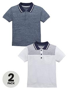 mini-v-by-very-boys-smart-polo-tops-2-pack