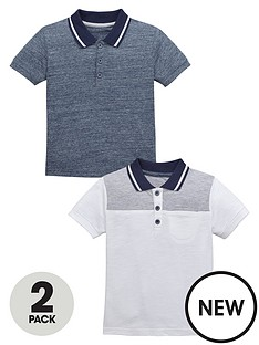 mini-v-by-very-boys-smart-polo-tops-2-pack