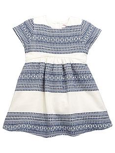 mini-v-by-very-girls-textured-stripe-dress
