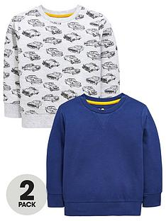 mini-v-by-very-boys-motorcar-crew-neck-sweat-tops-2-pack