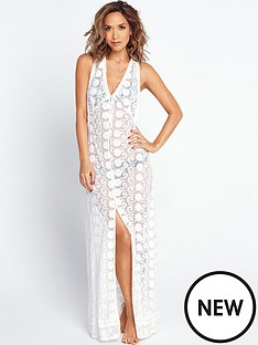 myleene-klass-button-up-lace-beach-maxi-dress-off-white