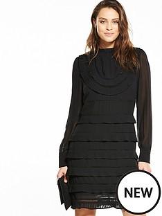 v-by-very-high-neck-ruffle-dress