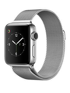 apple-watch-series-2-38mm-stainless-steel-case-with-silver-milanese-loop