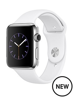 apple-watch-series-2-42mm-stainless-steel-case-with-white-sport-band