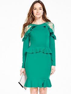 v-by-very-lace-insert-ruffle-dress