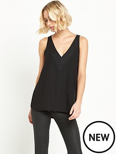 river-island-black-strap-back-cami