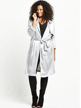 so-fabulous-curve-satin-longline-duster-silver