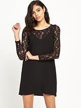 2 in 1 Lace Slip Dress