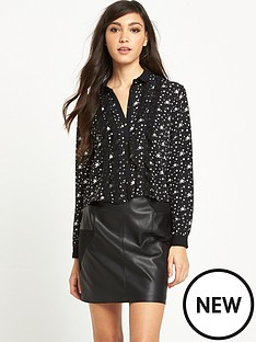 river-island-star-print-blouse