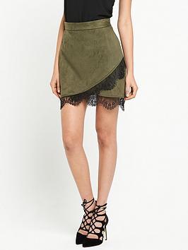 river-island-river-island-suedette-lace-hem-mini-skirt