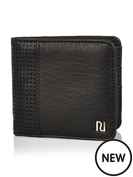 river-island-perforated-detail-wallet