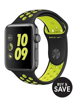 apple-watch-nike-42mm-space-grey-aluminium-case-with-blackvolt-nike-sport-band