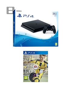 playstation-4-slim-500gb-console-with-fifa-17-plus-optional-extra-controller-andor-12-months-playstation-network