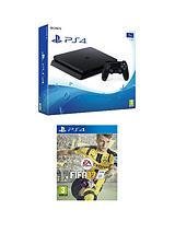 Slim 1Tb Console with FIFA 17 plus Optional Extra Controller and/or 12 Months PlayStation Network