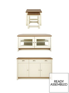 consort-tivoli-corner-tv-3-piece-package-ready-assembled-sideboard-corner-tv-unit-and-nest-of-tables-in-oak-effect-or-creamoak-effect-buy-and-save