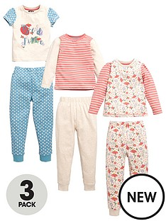 mini-v-by-very-girls-floral-spot-and-stripe-pyjamas-6-piece