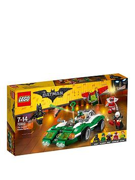 Lego The Batman Movie Lego Batman The Riddler&Trade Riddle Racer 70903