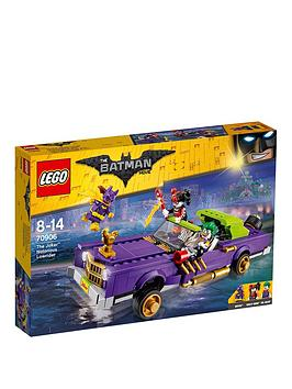 Lego The Batman Movie Lego Batman The Joker&Trade Notorious Lowrider 70906