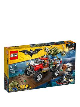 Lego The Batman Movie Lego Batman Killer Croc&Trade TailGator 70907